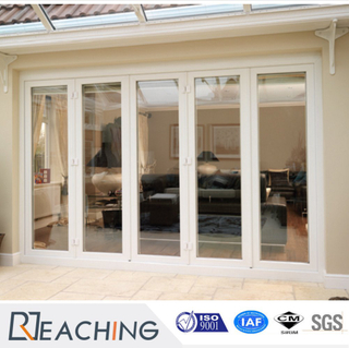 Hot Sale Double Glass Plastic Frame Folding Door with Reasonable Price