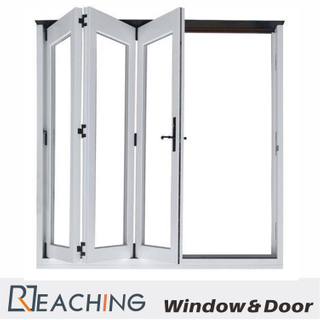 Three Door Bi-Folding Aluminium Windows with Double Glass Anti-Nosie Water Proof