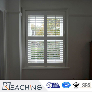 White Color Building Materila Shutter Window Louvers Blind