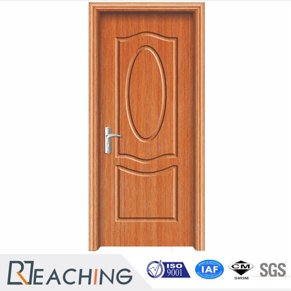 Latest Design MDF PVC Vinyl Door Bedroom Toilet Fiber Design Door MDF Malaysia