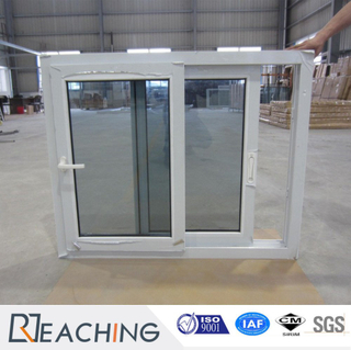 White Color UPVC Window with Multi Point Lock System