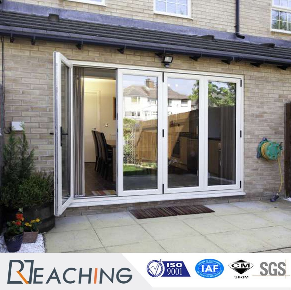 3 Folding 1 Hinge Heat Proof PVC Vinyl Glass Window