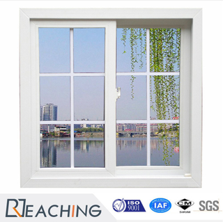 Chinese Top Quality PVC Profile Clear Glass Sliding Windows