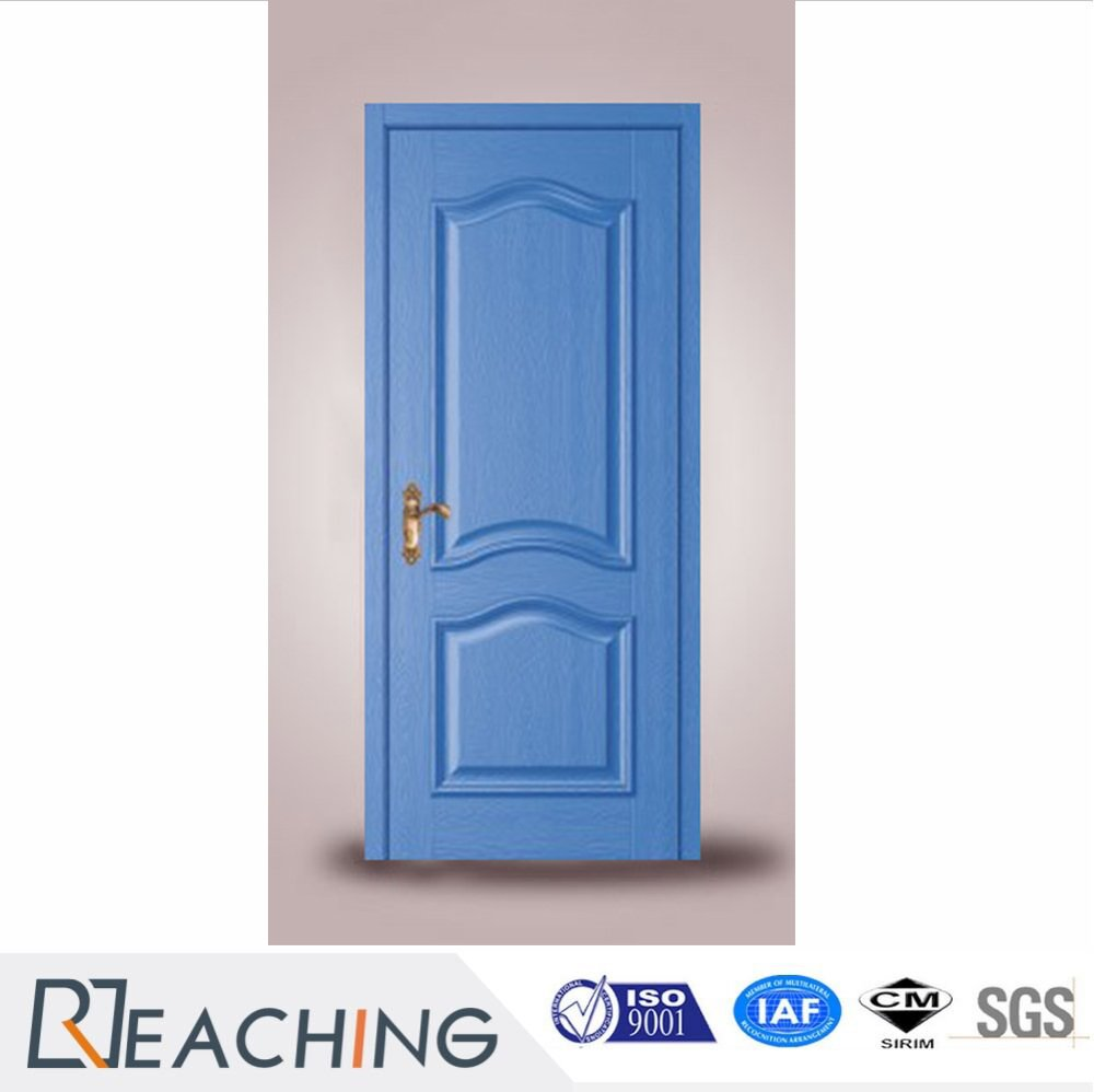 blue Color Modern Painting Composit Door Formaldehyde Removal