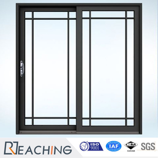 Guangdong Factory Hot Seller Double Tempered Glass Aluminium Sliding Door