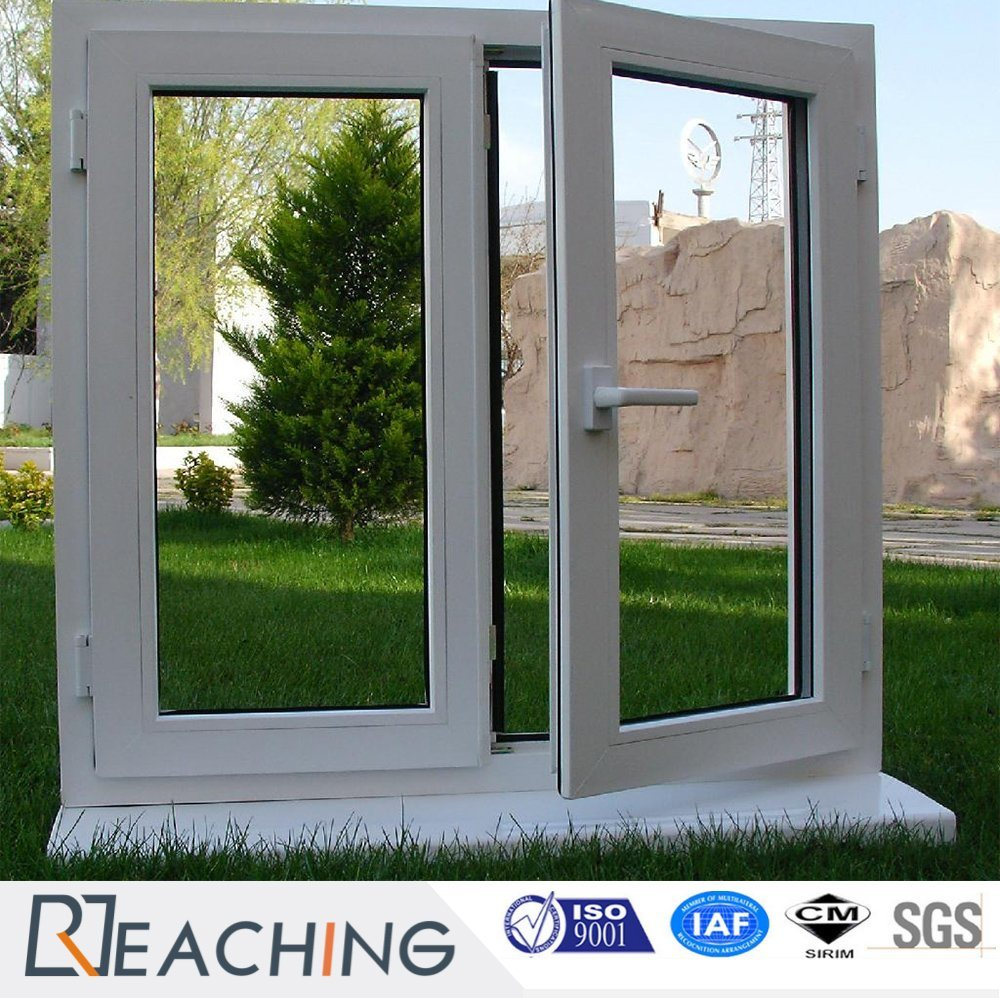 Domestic Hardware UPVC Casement Triple Tempered Glazing Windows