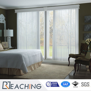 Bathroom French Sash UPVC Window Anti-Noise Anti-Water