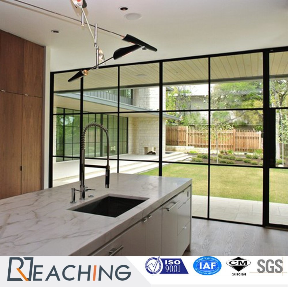 Thin Aluminium Aolly Frame Design Fixed Windows and Doors