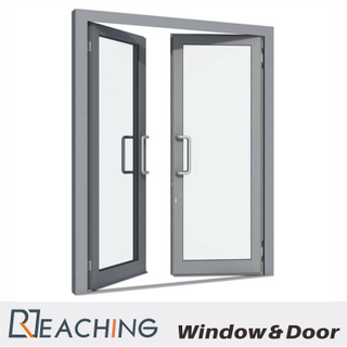 D Shape Handle Aluminium Glass Window Make in Guangdong with Sound Proof Tempered Glass